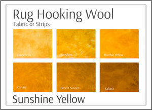 Sunshine Yellow Shades
