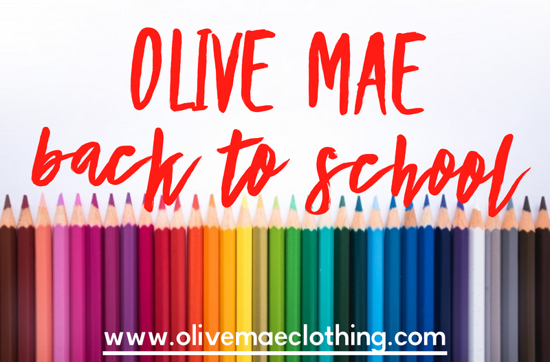 Olive Mae Back to School