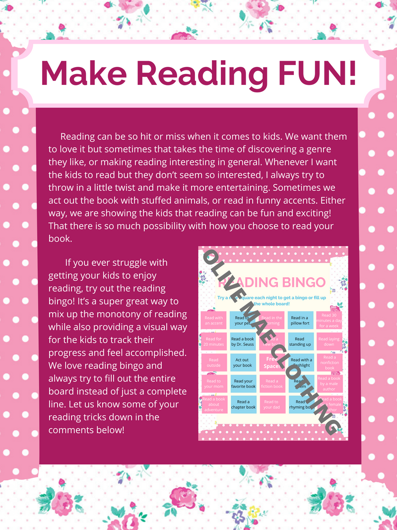 Make Reading FUN!