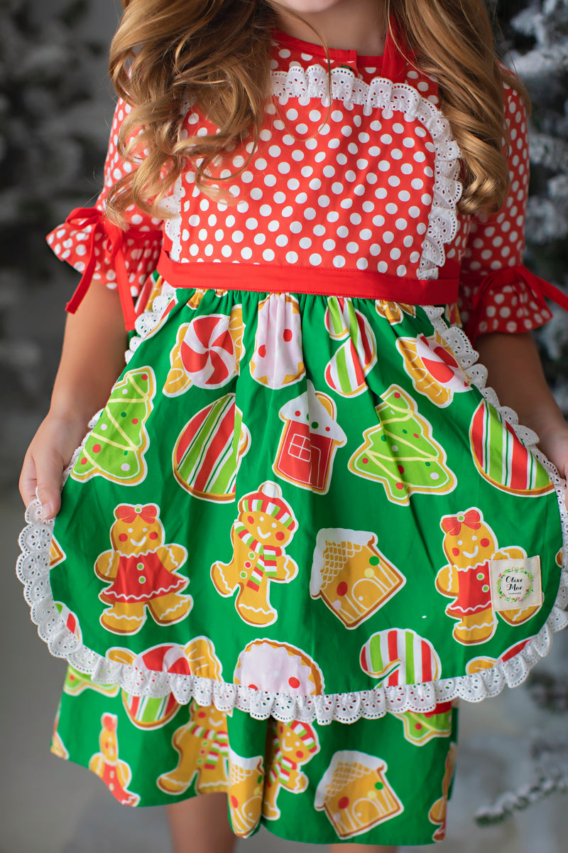Christmas Goodies Apron (4276881916039)
