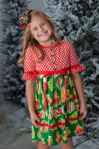 Christmas Goodies Dress (4276879589511)