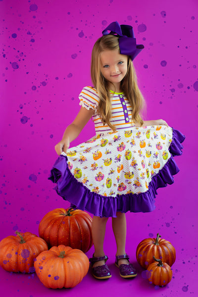 Pick of the Patch Twirl Dress