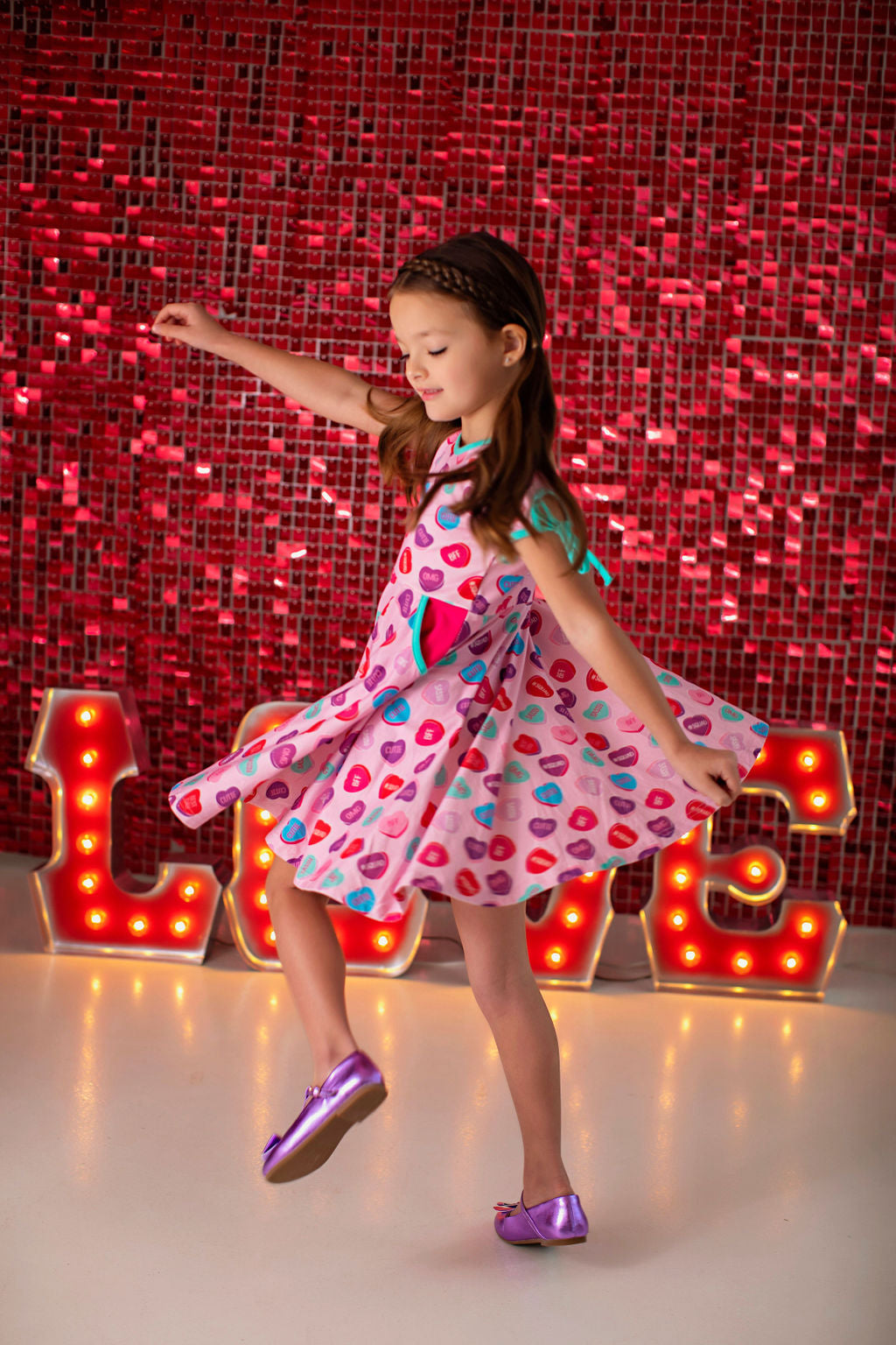 Sweet Talk Candy Twirl Dress
