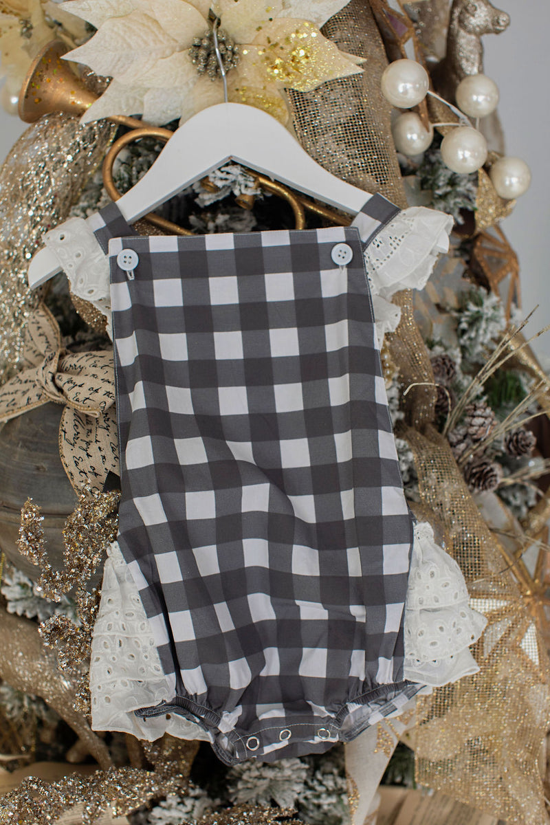 Black Gingham Bubble