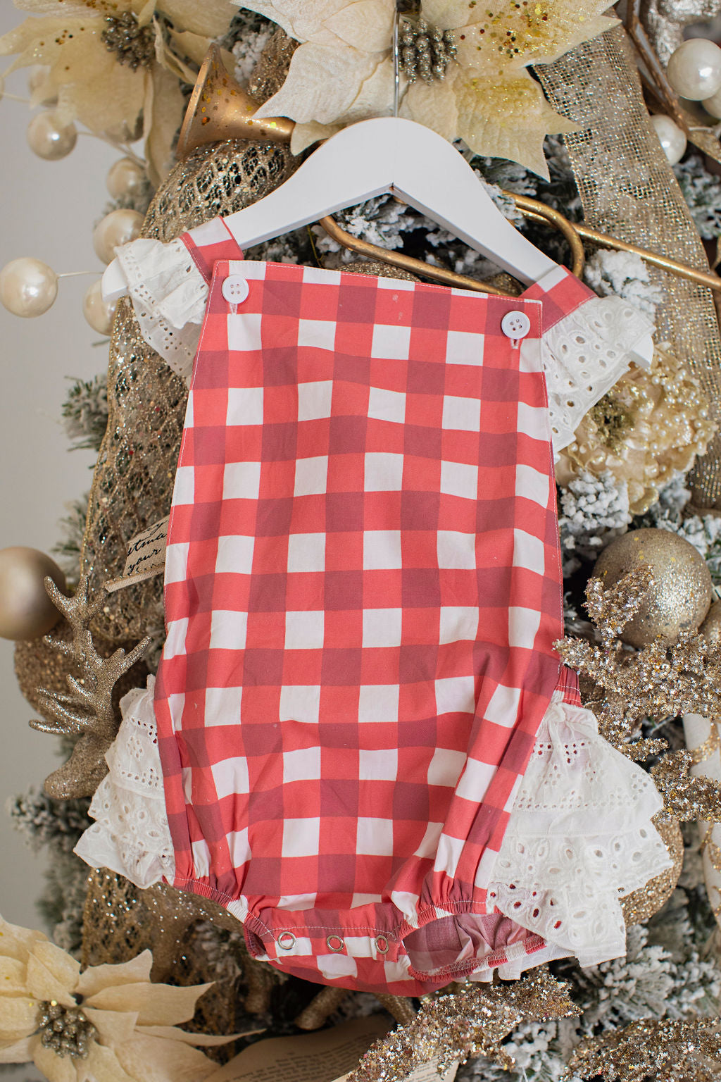 Red Gingham Bubble