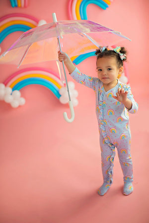 Baby and Toddler  Rainbow Lounge Wear Blue