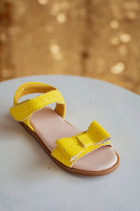 Sweet Bow Sandals Yellow