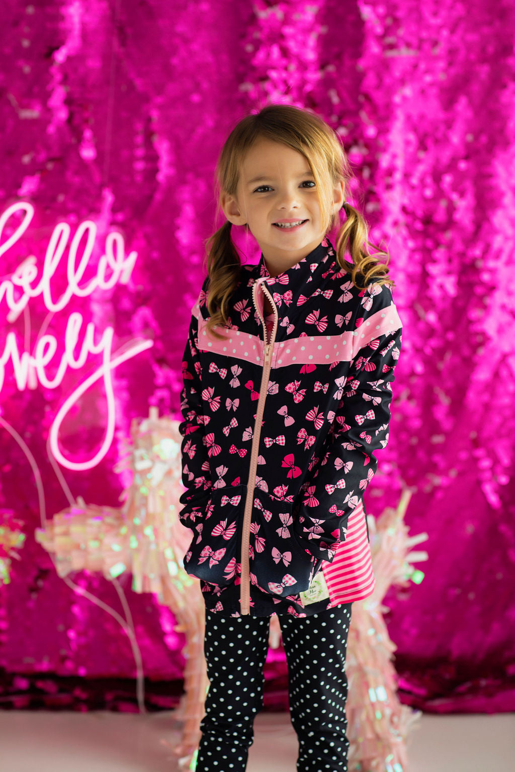 Pretty Little Bows Athletic Jacket