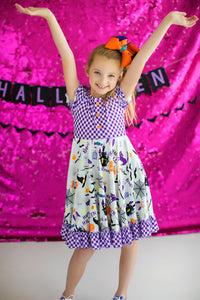 Spooktacular Twirl Dress
