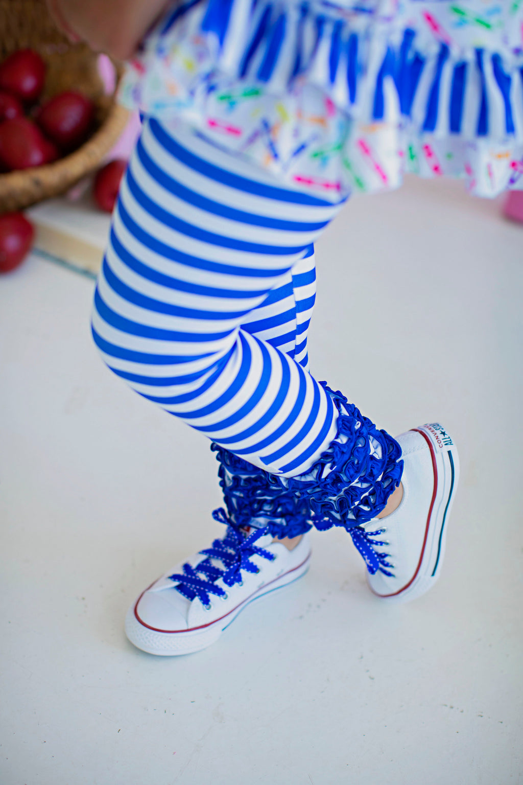 Blue Stripe Legging