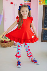 Red Apple Tunic