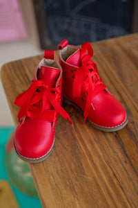Ruby Red Boots