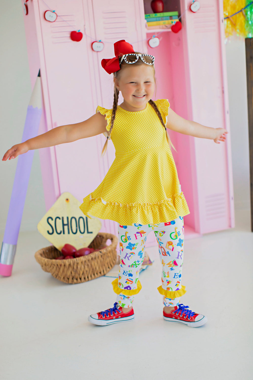 School Bus Yellow Tunic