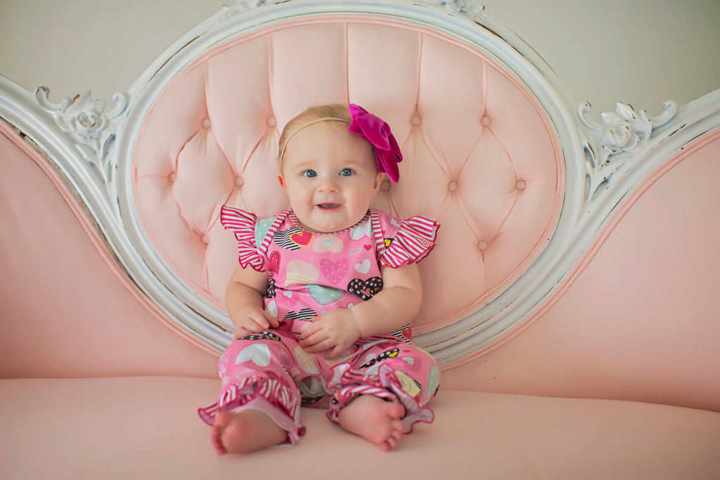 Happy Hearts Baby Romper (4500149928071)