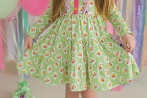 Fresh Florals Dress (4539034697863)