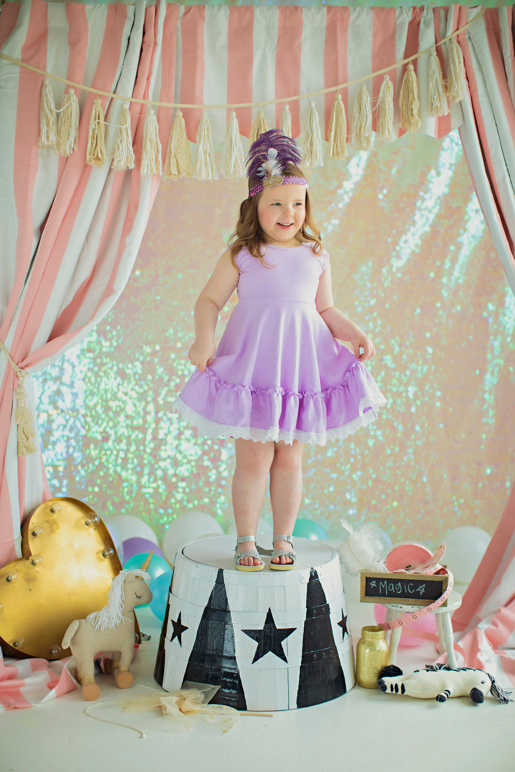 Big Top Lavender Twirl Dress (4664152457351)