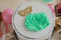 Charming Mint Ruffle Bloomers (4664244338823)