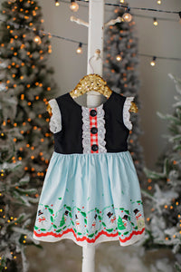 Winter Wonderland Swingback Dress