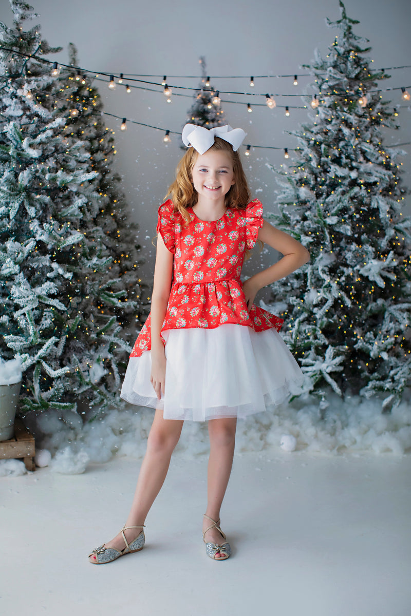 Holly Party Dress