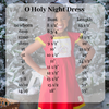 Oh Holy Night Dress