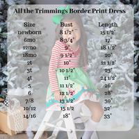 All the Trimmings Border Print Dress (4276617052295)