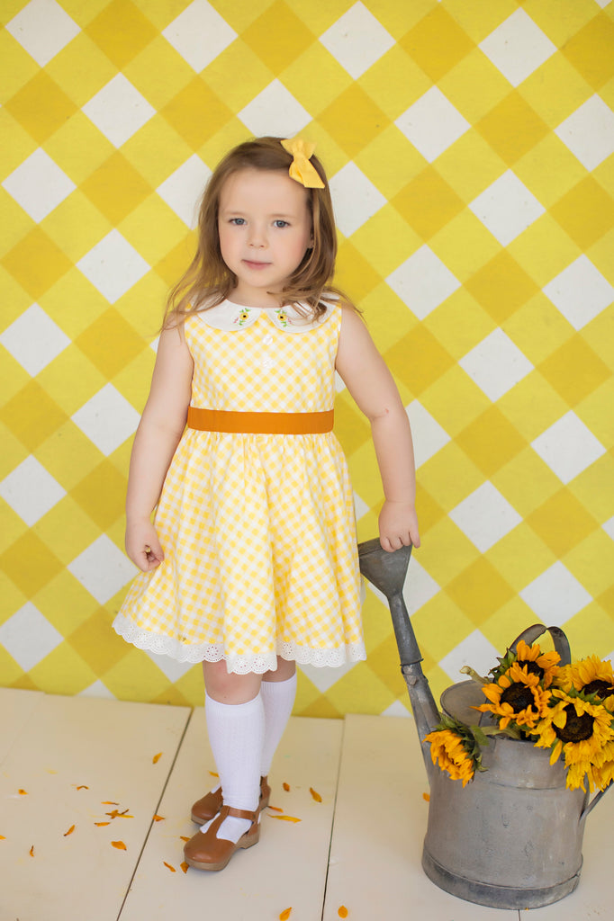 Sunflower Fields Dress