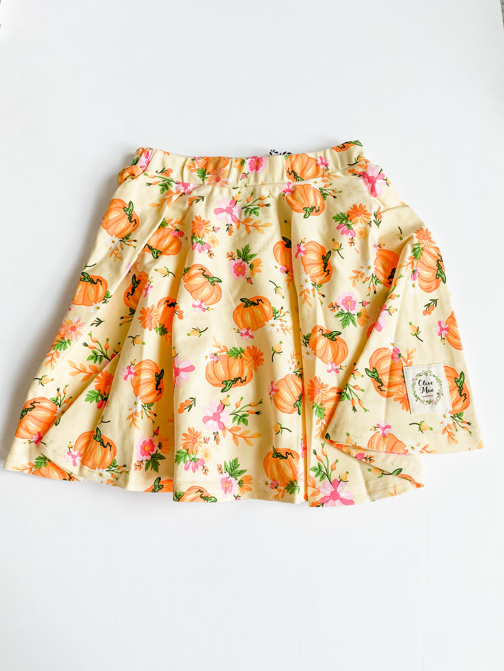 Fall Harvest Skater Skirt
