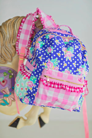 Polka Dot Party Backpack