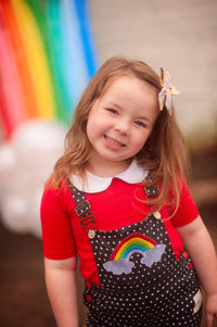 Round We Go Rainbow Overalls - NEW (4025185533997)