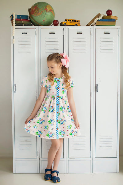School Yard Floral Dress
