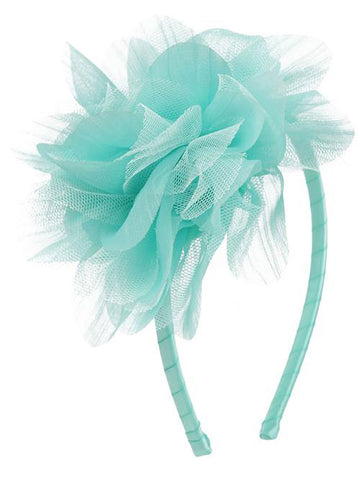 Cute Mesh Flower Headband 23 Colors Available