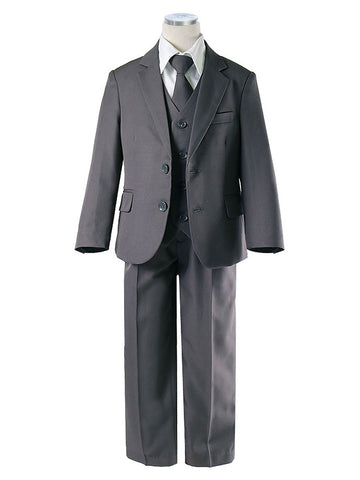 Charcoal Five Piece Boys Suite