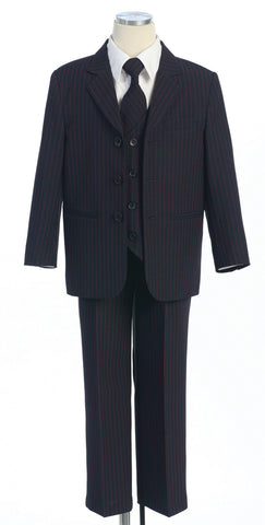 Complete Five Piece Stripe Suit