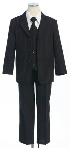Five piece Stripe Suit Set