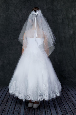 Stunning Hand Beaded Lace & Tulle Dress