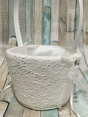 Sweet Lace Basket