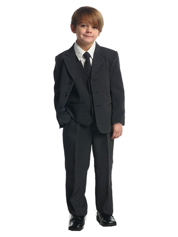 Boy's stripe suit