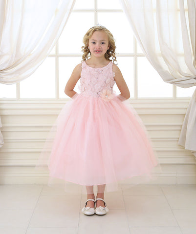 Flower girl dresses pinkblush flower girl dresses just unique blush sequin dress with tulle skirt mightylinksfo Image collections