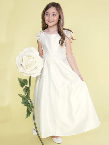 Elegant A-line Satin Dress