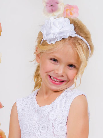 Beautiful Handmade First Communion Headband