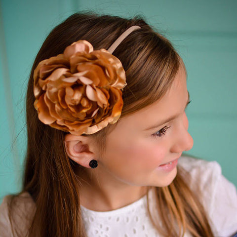 Handmade Rose Gold headband