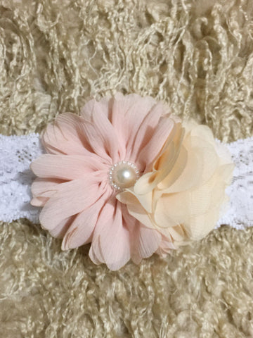 Lovely Flower Girl Lace Headband