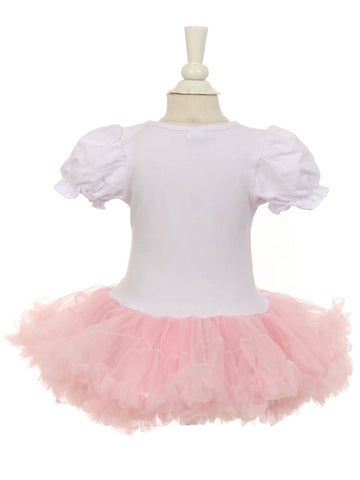 Birthday Tutu Dress With Cupcake Applique