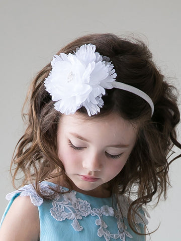 Ivory Beautiful Handmade First Communion Headband