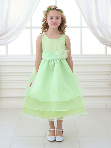 Flower girl dresses sagemint flower girl dresses just unique adorable overlay flower girl dress with sash and flower mightylinksfo