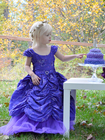 Princess inspired Taffeta Dress