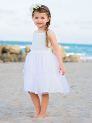 Sweet Tutu Style Flower Girl Dress