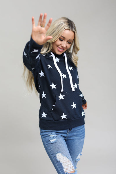 Reflex Tops Navy / S / 01-M-06 All Star Hoodie