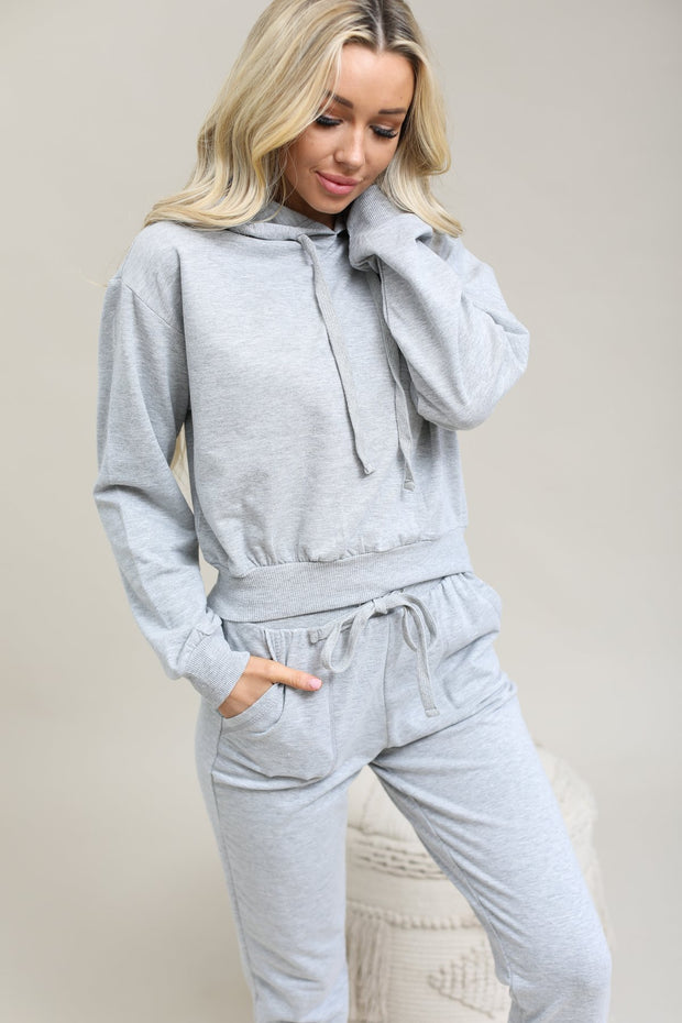 Active USA Sets Heather Grey / S / 11-F-06 Essential Sweat Outfit