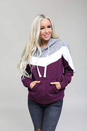 Reflex Tops Fleece Color Block Hoodie